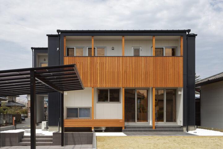 家事動線がデザインされた収納たっぷりの36坪の家